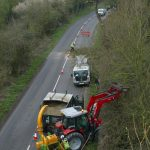 tree surgery roadside tree Oxfordshire