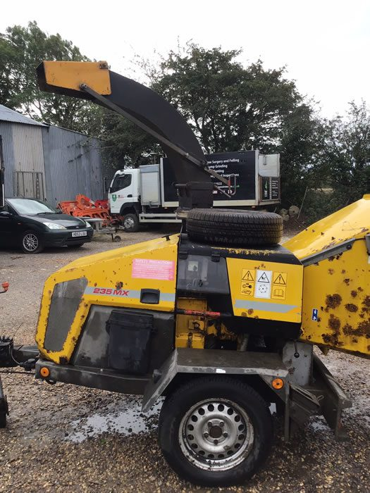 Tree services company Chipper for sale