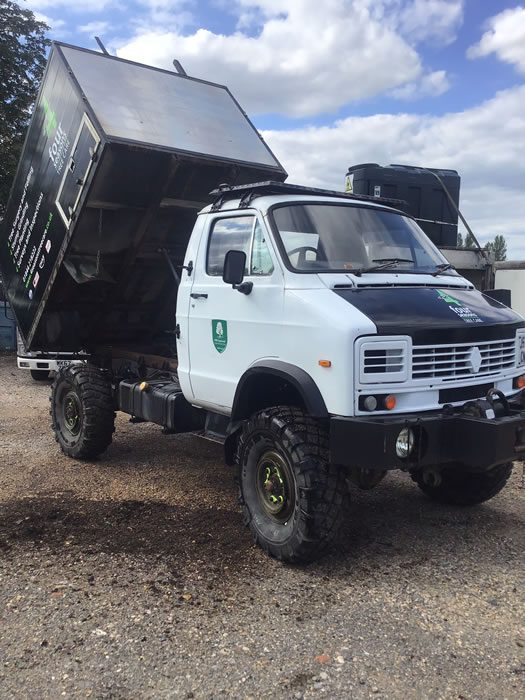 Tipper lorry for tree services company for sale